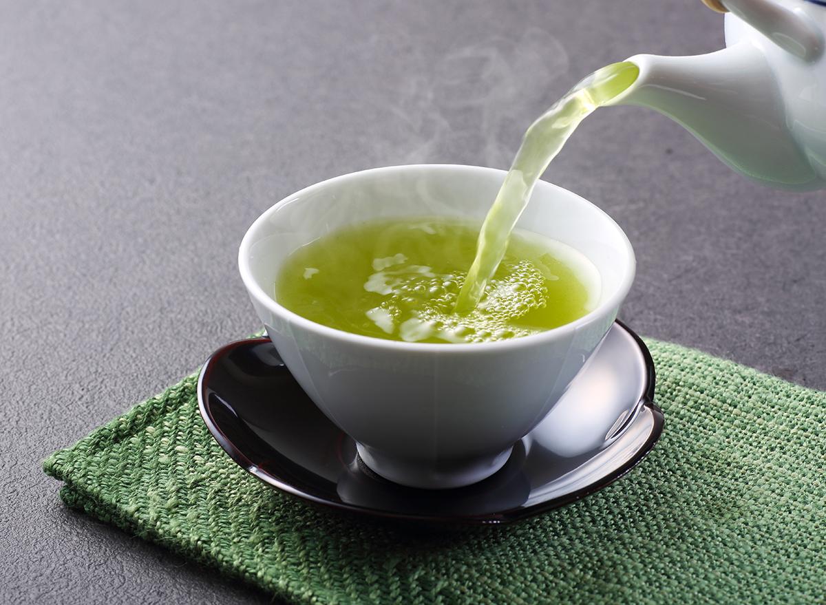 deilig kopp grønn