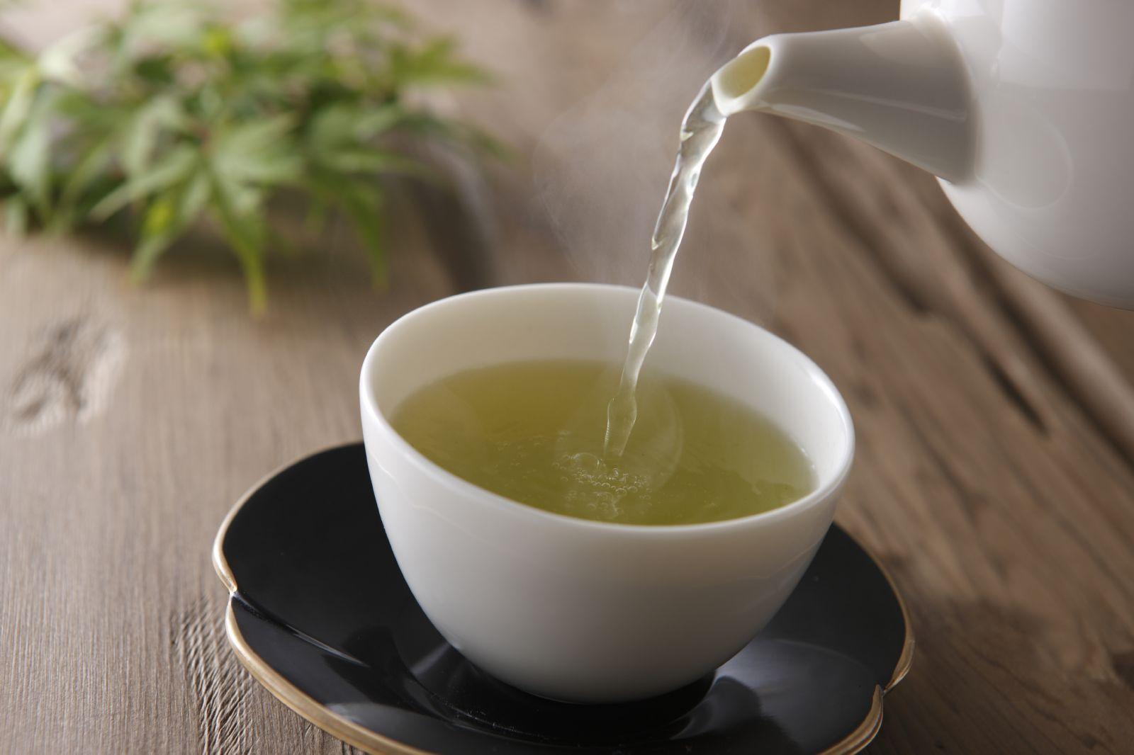 grønn te som medisin